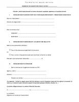 Formulaire associations